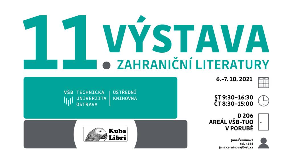 Pozvánka na 11. výstavu zahraniční literatury